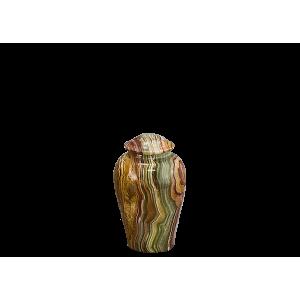 Onyx Vase Token - Tan/Rust/Green/White Onyx Vase (Token)