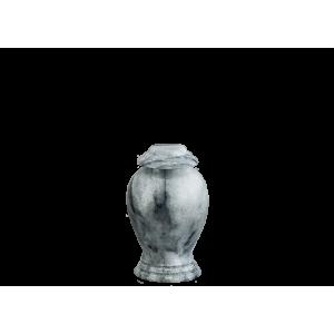 Grey/White Marble Vase Token - Gray/White Marble Vase with Base (Token)