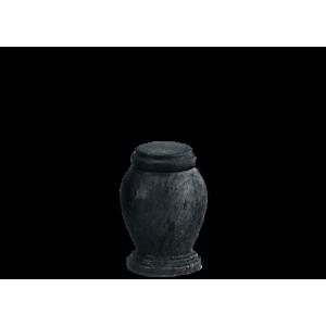 Black Marble Token - Black Marble Vase with Base (Token)