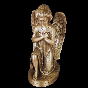 Kneeling Angel - Kneeling Angel with Crossed Arms