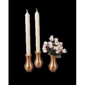 Honor - Brushed Bronze Vase or Candlestick