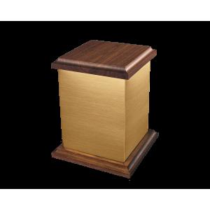 Yukon I - Cube Bronze with Hardwood Lid & Base (Adult)