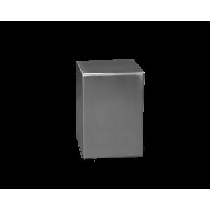 Satin S/S Small Plain Cube - Satin Stainless Steel Cube Plain (Small)