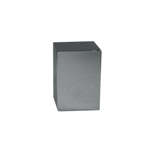 Polished S/S Small Plain Cube - Polished Stainless Steel Cube Plain (Small)