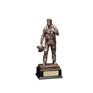 Air Force Pilot - Sculpted Pilot Figure w/Base