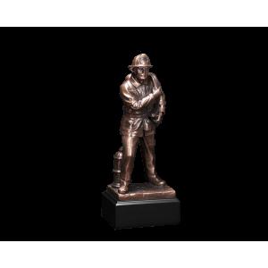 Firefighter - Sculpted Firefighter w/Base