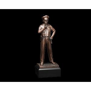Sculpted Patrolmen - Sculpted Patrolman w/Base