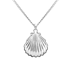 Shell - Sterling Silver with Chain