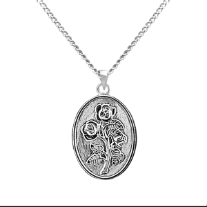 Rose - Sterling Silver with Chain