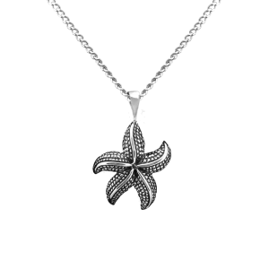 Starfish - Sterling Silver with Chain