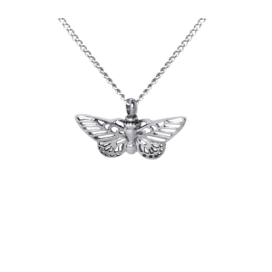 Butterfly     - Stainless Steel with Chain