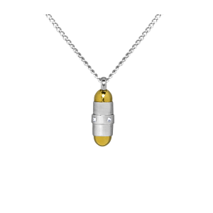 Bullet     - Stainless Steel with Chain