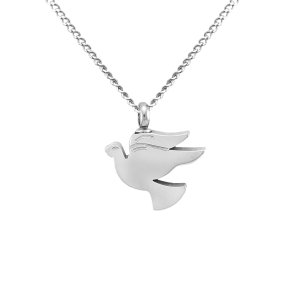 Dove  - Stainless Steel with Chain