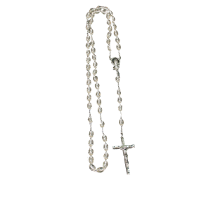 Clear Rosary - Clear Plastic Bead