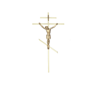 "Crucifix/Cross - 10"" Slimline Russian Orthodox"