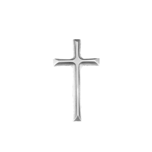 Cross in Silhouette - Silver