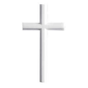 Cross in Silhouette - Marble