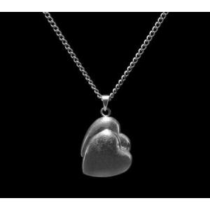 Companion Heart - Sterling Silver with Chain