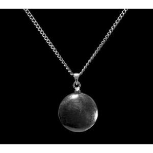 Disc - Sterling Silver with Chain