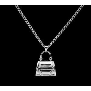 Handbag - Sterling Silver with Chain