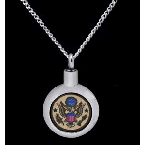 US Army- Stainless Steel with Chain