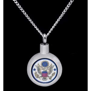 US Air Force- Stainless Steel with Chain