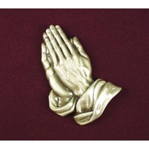 Urn Applique, Praying Hands