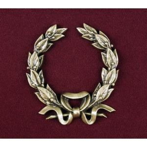Urn Applique, Wreath with Bow