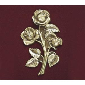 Stem Rose, Urn Applique