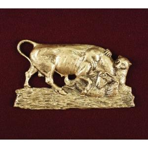 The Market (Bull & Bear), Urn Applique
