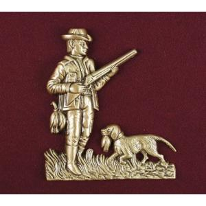 The Hunter – Bronze Pet Urn Applique