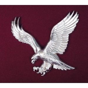 Silver American Eagle Applique