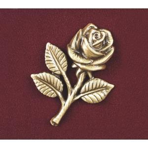 Small Rose, Urn Applique