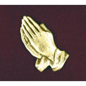 Small Praying Hands, Urn Applique