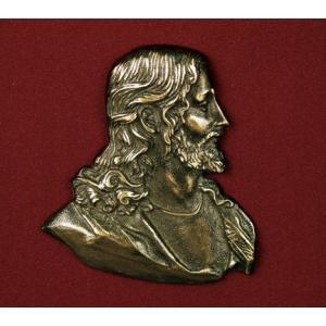 Head of Christ, Urn Applique