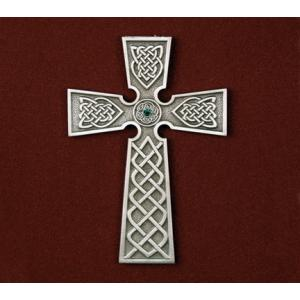 Irish Cross with Stone