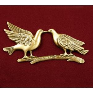 Loving Doves, Urn Applique