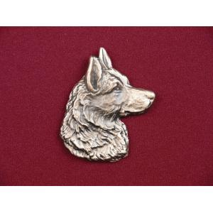 German Shepherd Pet Urn Applique