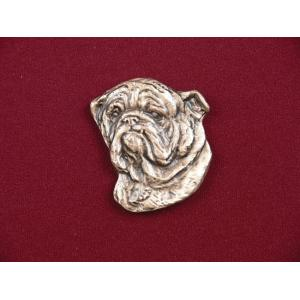 English Bulldog Pet Urn Applique