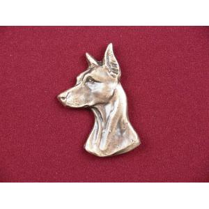 Doberman Pet Urn Applique