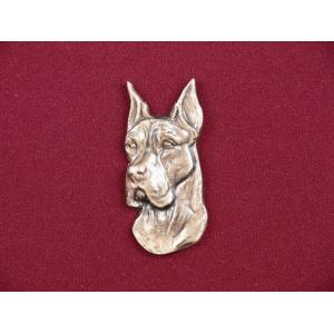 Great Dane Pet Urn Applique
