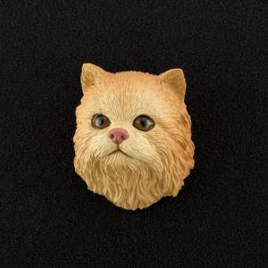 Persian (red) 3D Pet Head Cremation Urn Applique