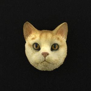 Red Tabby (shorthair) 3D Pet Head Cremation Urn Applique