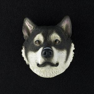 Alaskan Malamute 3D Pet Head Cremation Urn Applique