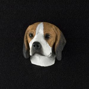 Beagle 3D Pet Head Cremation Urn Applique