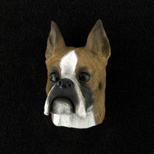 Boxer 3D Pet Head Cremation Urn Applique