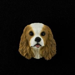 Cavalier King Charles 3D Pet Head Cremation Urn Applique