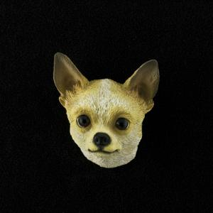 Chihuahua (tan) 3D Pet Head Cremation Urn Applique