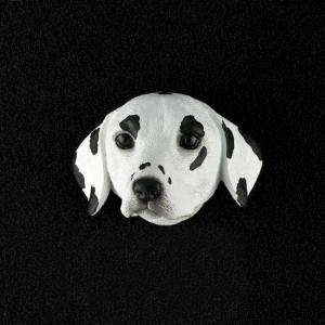 Dalmatian 3D Pet Head Cremation Urn Applique
