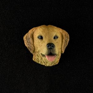 Golden Retriever 3D Pet Head Cremation Urn Applique